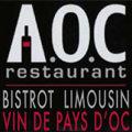 Logo du restaurant AOC au bord du Lez à Montpellier