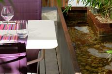 Les Gourmands Montpellier Restaurant et sa terrasse aménagée pour les beaux jours au centre-ville (® networld-fabrice chort)