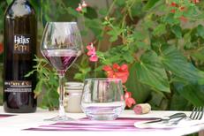 Les Gourmands Montpellier Restaurant fait maison présente l'une des ses tables en terrasse au centre-ville( ® networld-fabrice chort)
