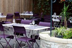 Restaurant Les Gourmands Montpellier et sa magnifique terrasse pour les beaux jours sur l'avenue Saint Lazare au centre-ville (® SAAM-fabrice chort)